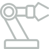 robotic arm in outline